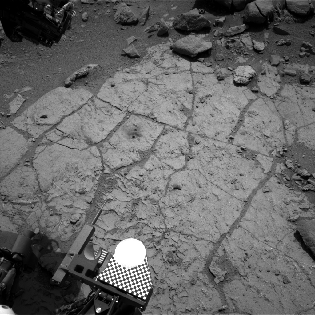 NASA's Mars rover Curiosity acquired this image using its Right Navigation Cameras (Navcams) on Sol 230