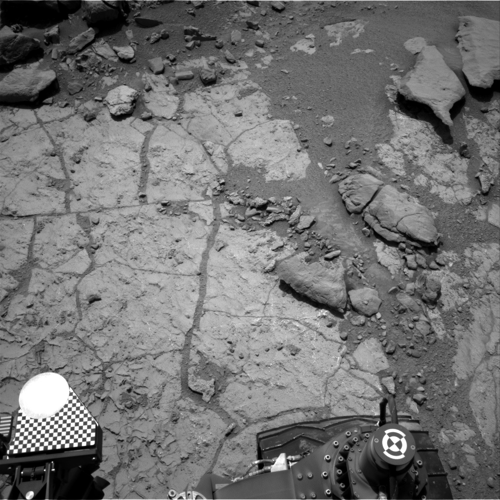 Nasa's Mars rover Curiosity acquired this image using its Right Navigation Camera on Sol 230, at drive 0, site number 6