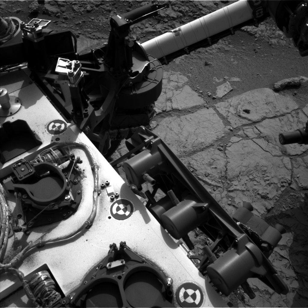 NASA's Mars rover Curiosity acquired this image using its Left Navigation Camera (Navcams) on Sol 231