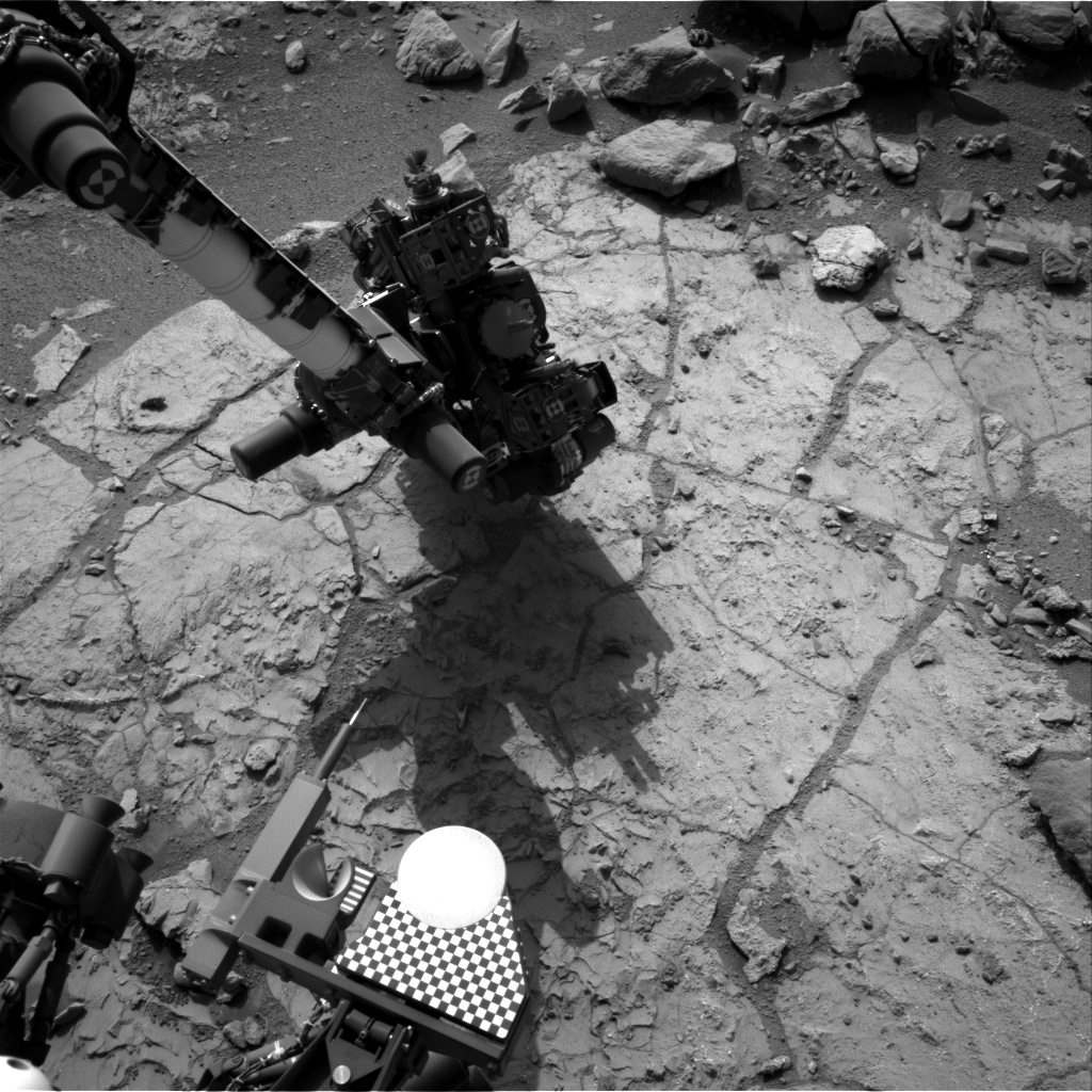 Nasa's Mars rover Curiosity acquired this image using its Right Navigation Camera on Sol 231, at drive 0, site number 6