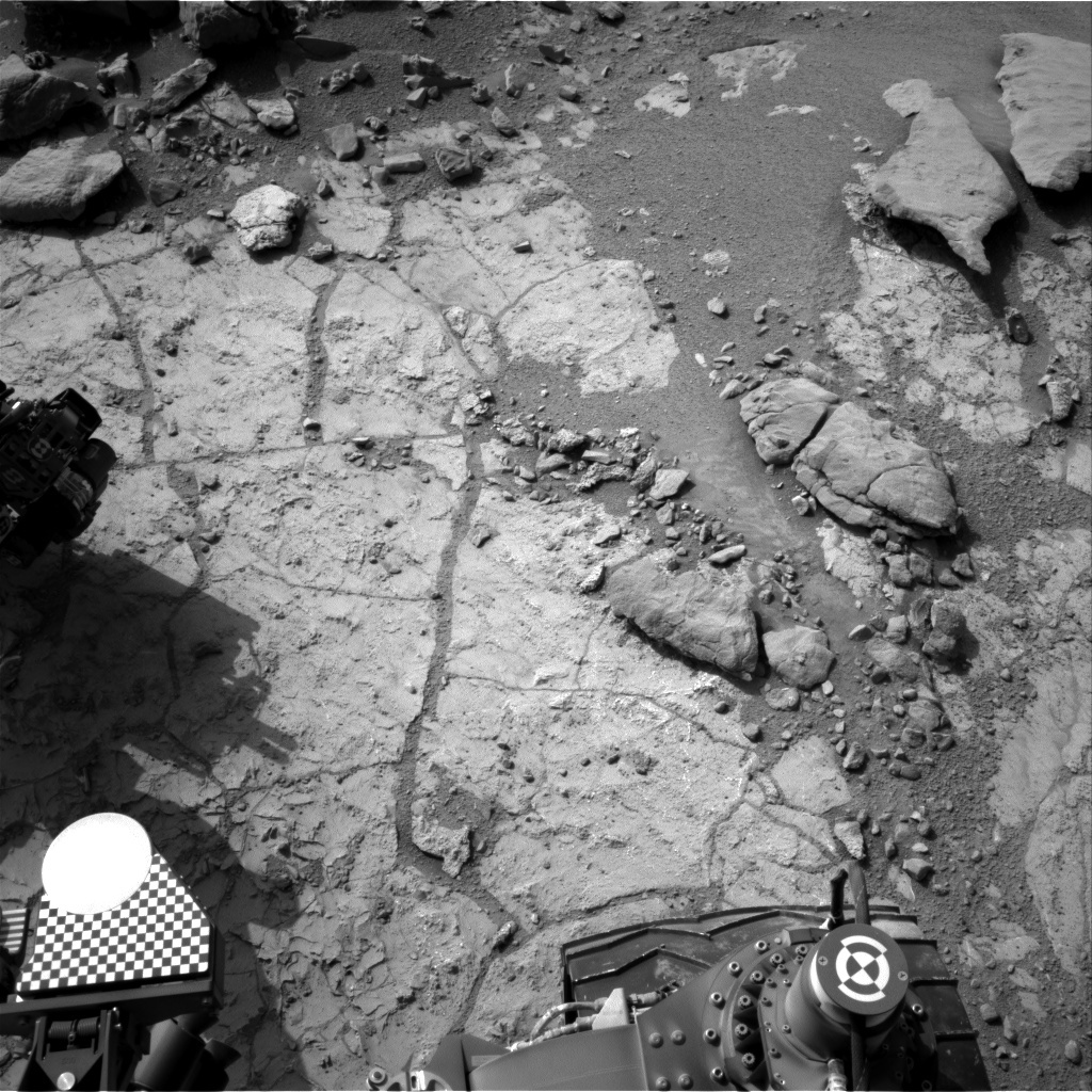 NASA's Mars rover Curiosity acquired this image using its Right Navigation Cameras (Navcams) on Sol 231
