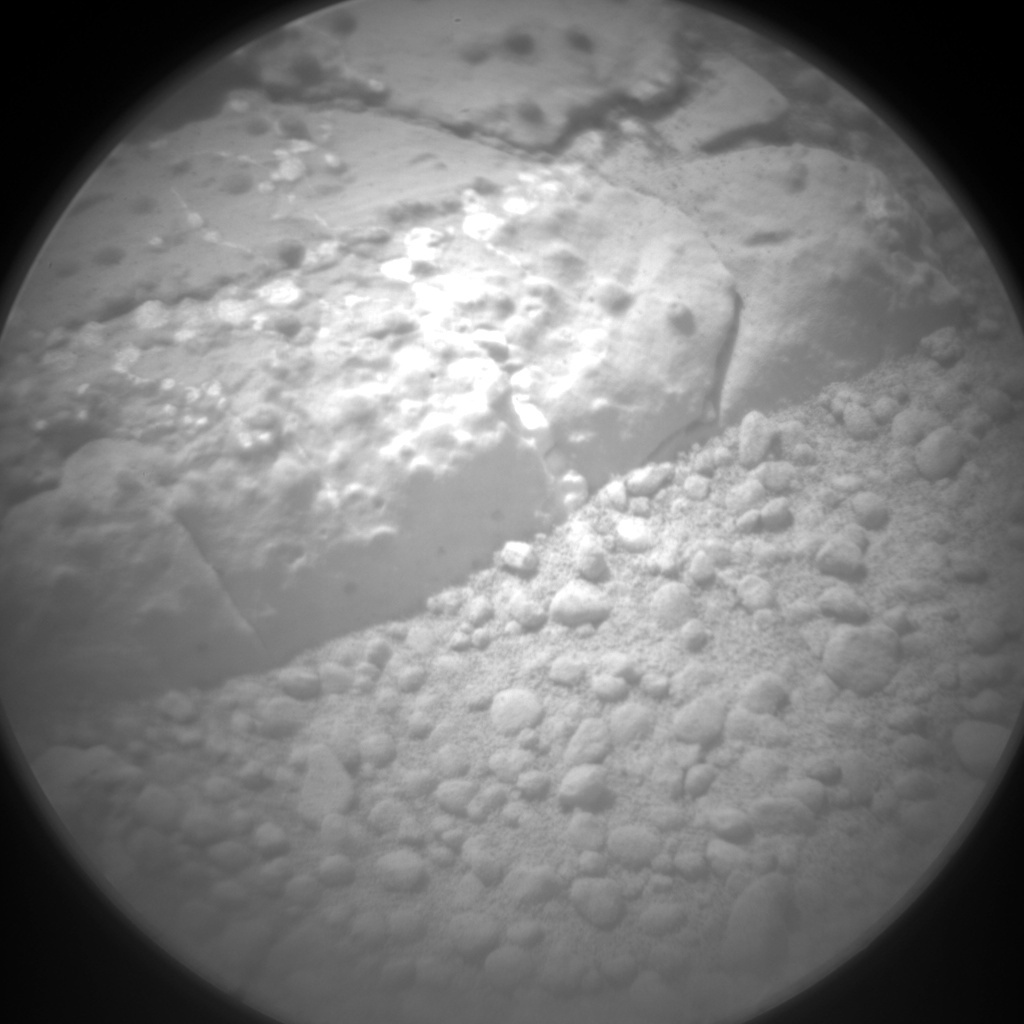 NASA's Mars rover Curiosity acquired this image using its Chemistry & Camera (ChemCam) on Sol 232
