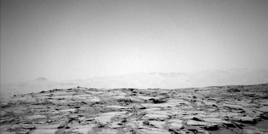 NASA's Mars rover Curiosity acquired this image using its Left Navigation Camera (Navcams) on Sol 232