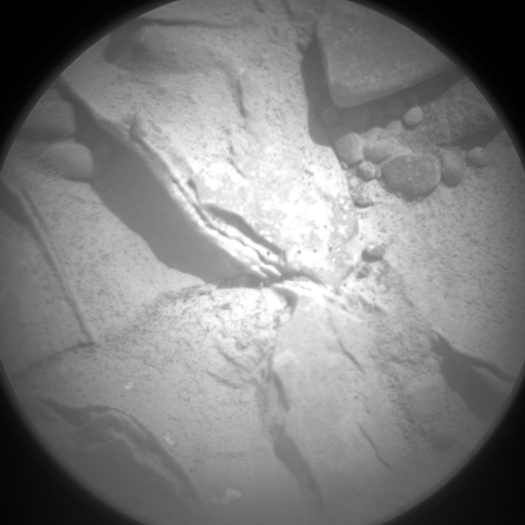 NASA's Mars rover Curiosity acquired this image using its Chemistry & Camera (ChemCam) on Sol 234