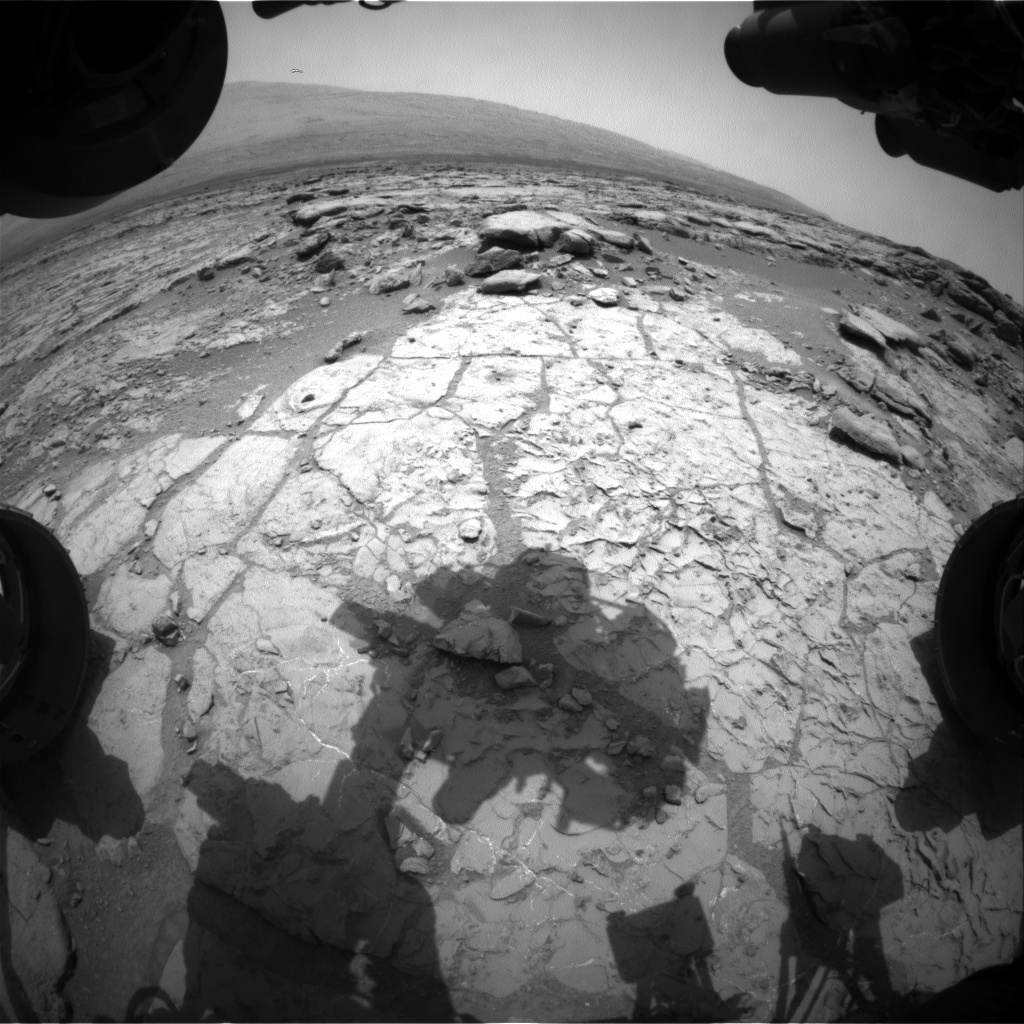 NASA's Mars rover Curiosity acquired this image using its Front Hazard Avoidance Cameras (Front Hazcams) on Sol 262