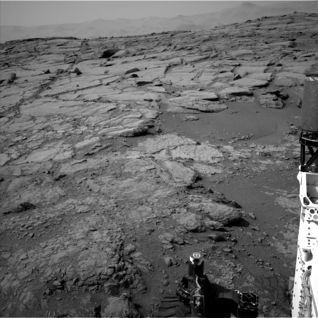 NASA's Mars rover Curiosity acquired this image using its Left Navigation Camera (Navcams) on Sol 262