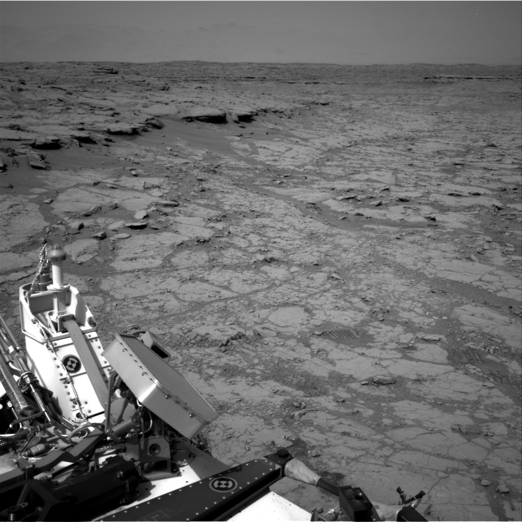 Nasa's Mars rover Curiosity acquired this image using its Right Navigation Camera on Sol 262, at drive 0, site number 6