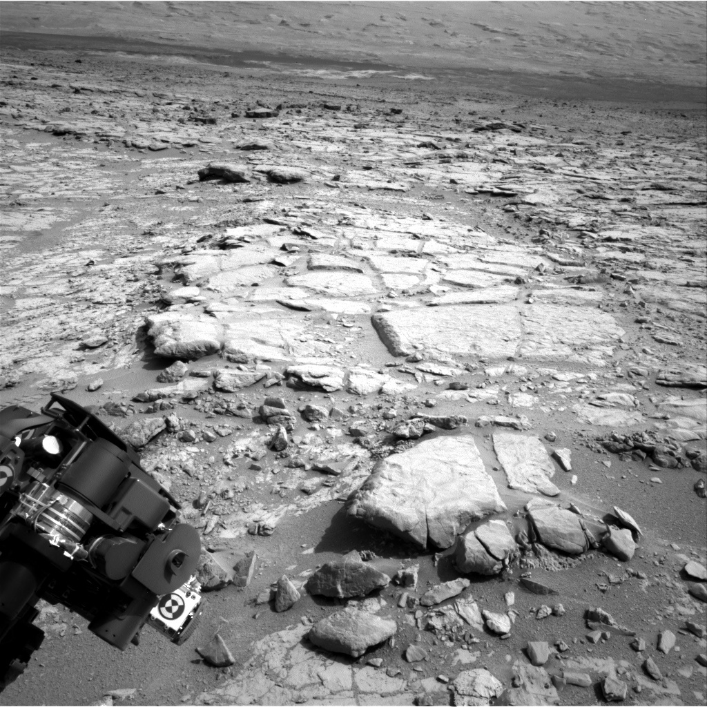 NASA's Mars rover Curiosity acquired this image using its Right Navigation Cameras (Navcams) on Sol 262