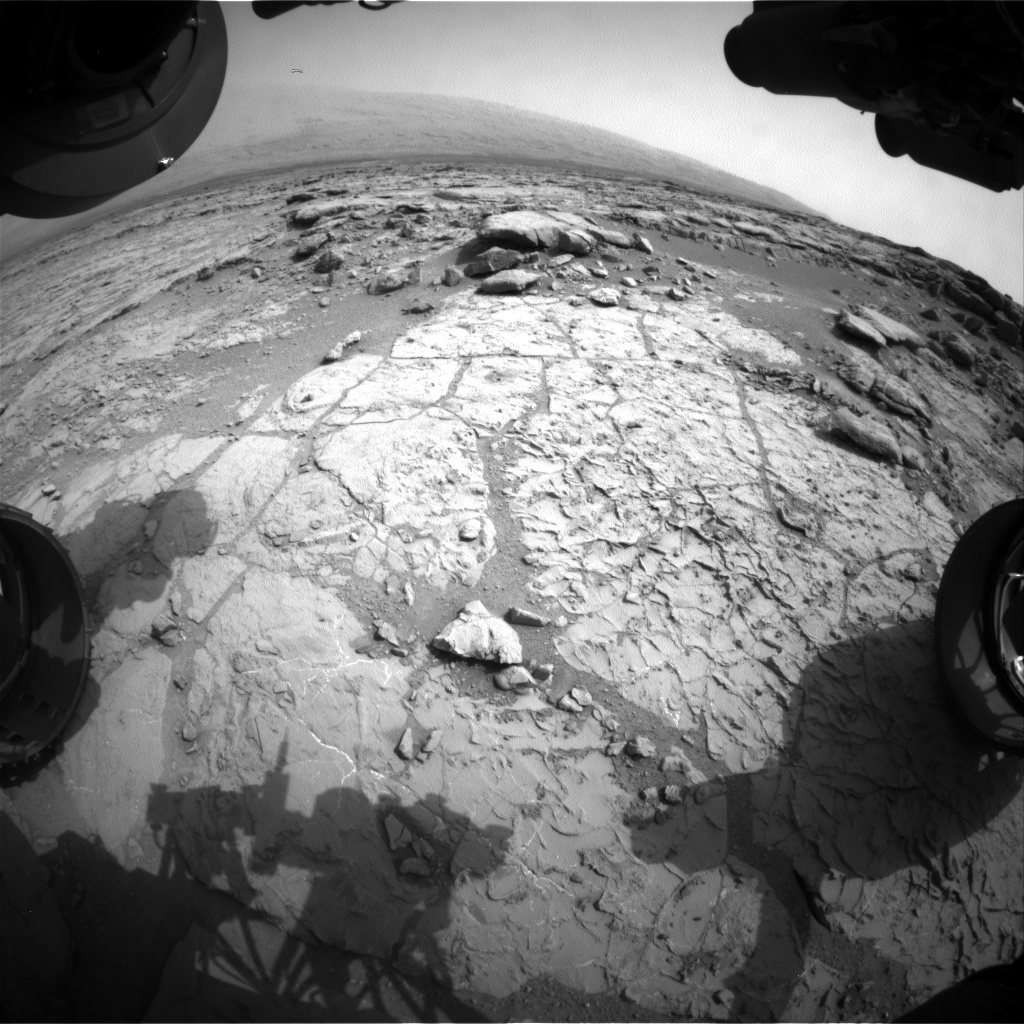 NASA's Mars rover Curiosity acquired this image using its Front Hazard Avoidance Cameras (Front Hazcams) on Sol 268