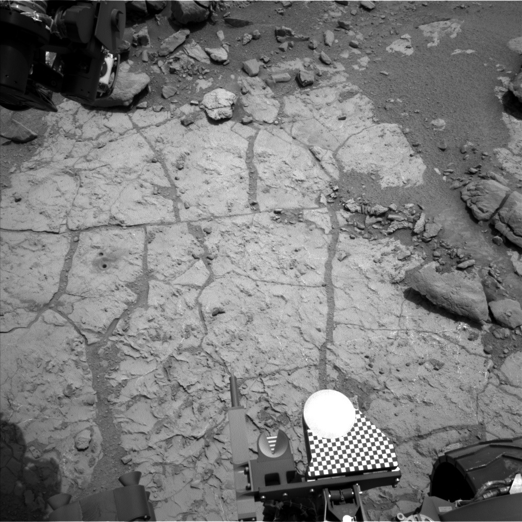 NASA's Mars rover Curiosity acquired this image using its Left Navigation Camera (Navcams) on Sol 268