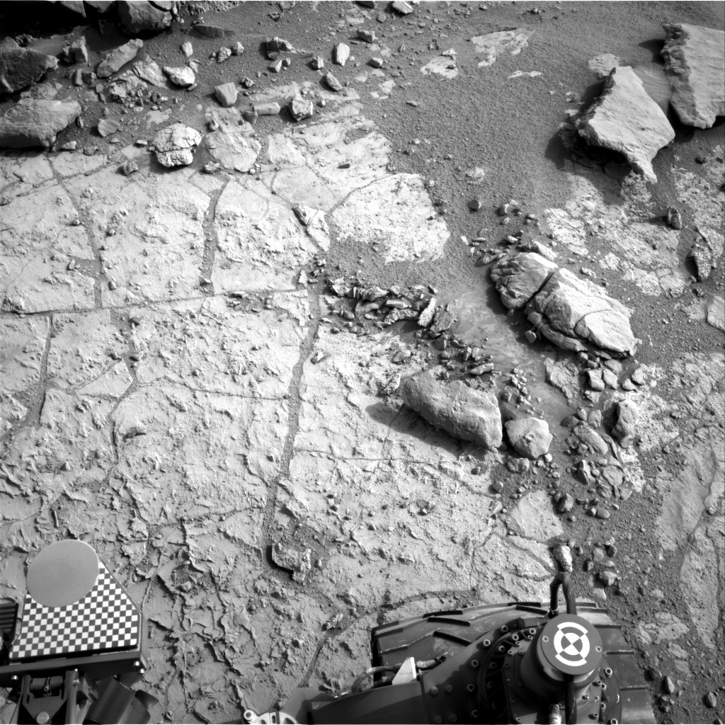 NASA's Mars rover Curiosity acquired this image using its Right Navigation Cameras (Navcams) on Sol 268