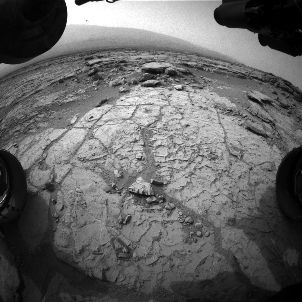 NASA's Mars rover Curiosity acquired this image using its Front Hazard Avoidance Cameras (Front Hazcams) on Sol 269