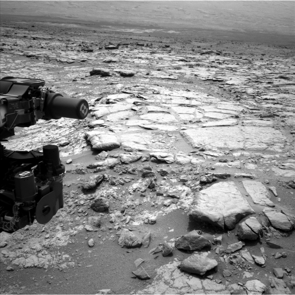 NASA's Mars rover Curiosity acquired this image using its Left Navigation Camera (Navcams) on Sol 269