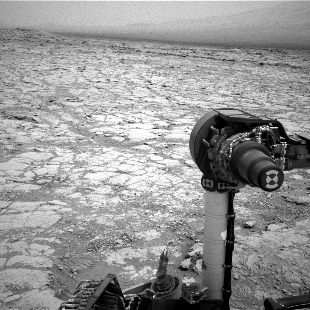 Nasa's Mars rover Curiosity acquired this image using its Left Navigation Camera on Sol 269, at drive 0, site number 6