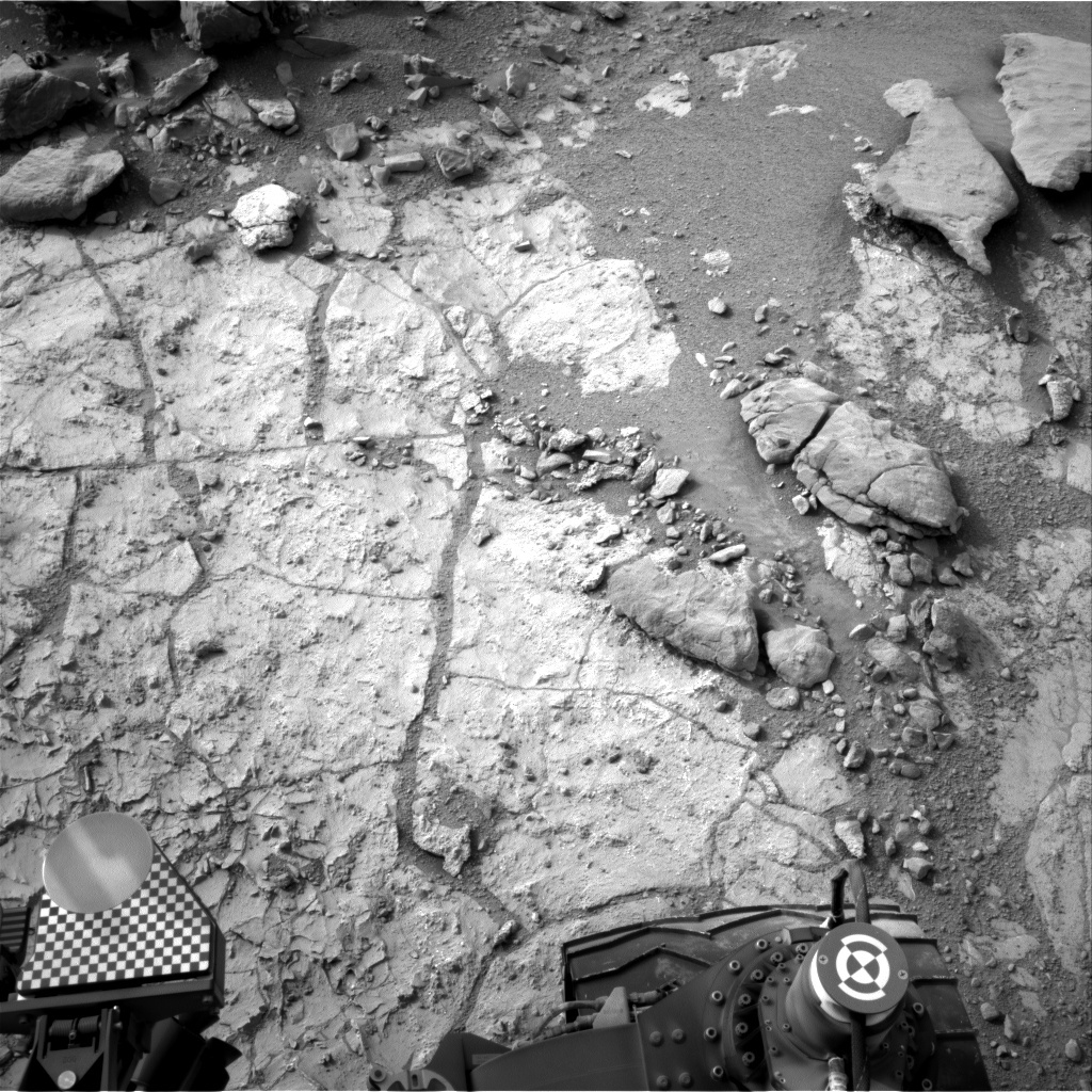 NASA's Mars rover Curiosity acquired this image using its Right Navigation Cameras (Navcams) on Sol 269