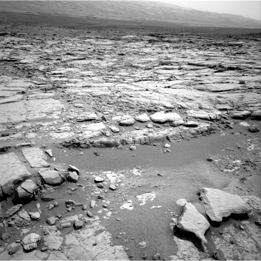 Nasa's Mars rover Curiosity acquired this image using its Right Navigation Camera on Sol 269, at drive 0, site number 6
