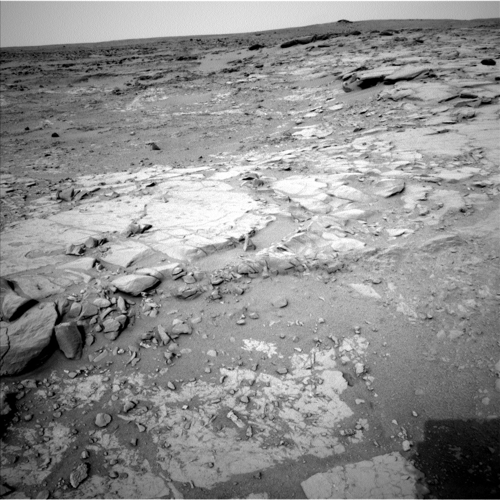 Nasa's Mars rover Curiosity acquired this image using its Left Navigation Camera on Sol 270, at drive 0, site number 6