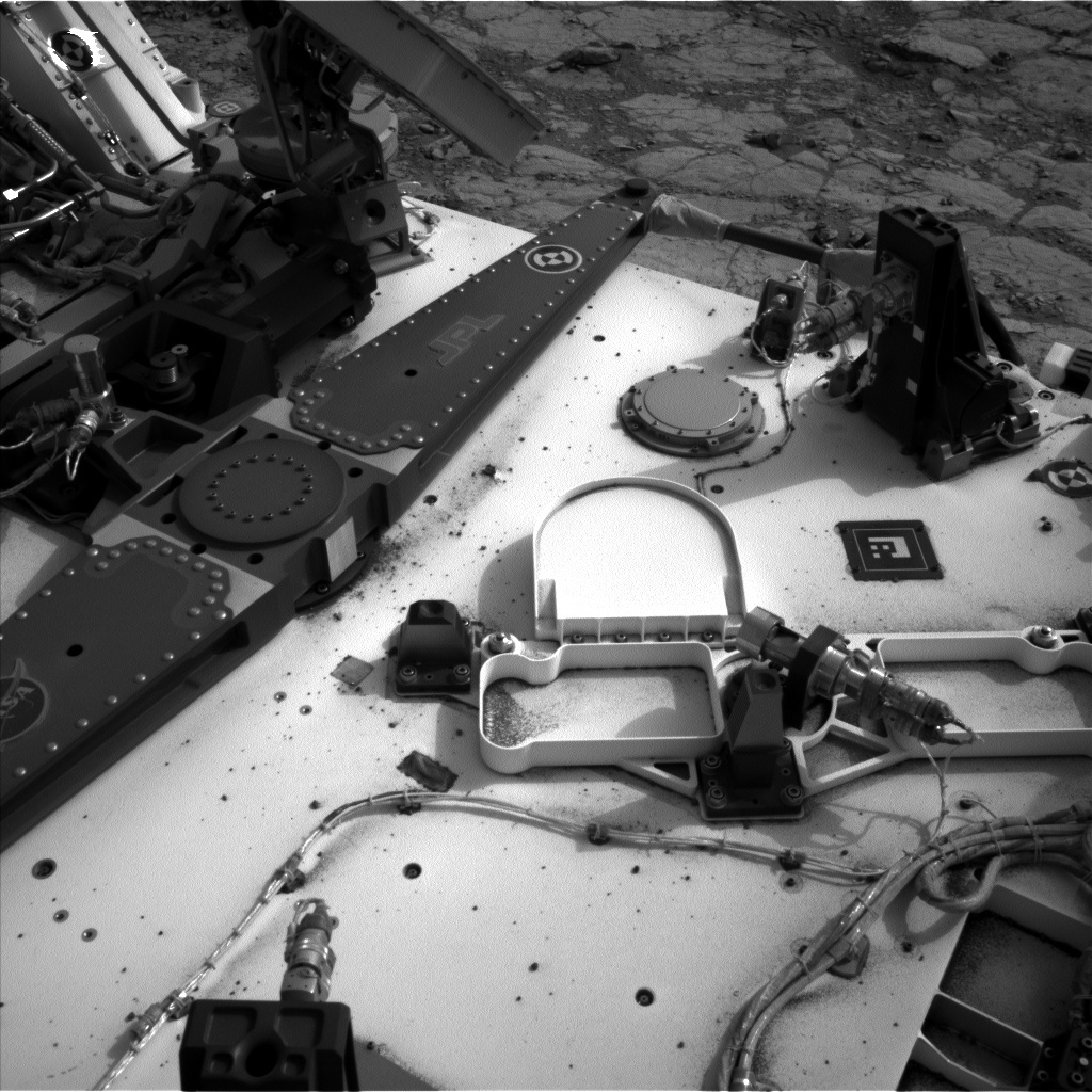 NASA's Mars rover Curiosity acquired this image using its Left Navigation Camera (Navcams) on Sol 270