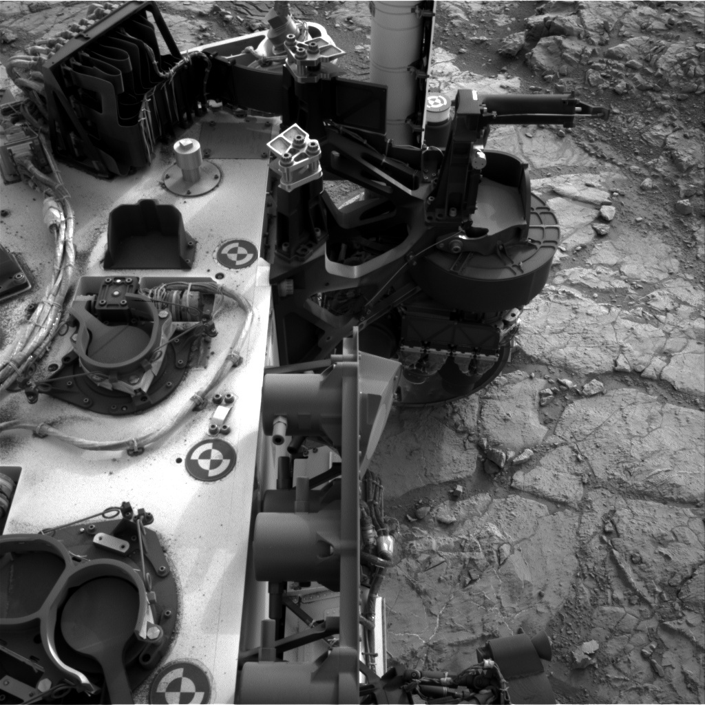 NASA's Mars rover Curiosity acquired this image using its Right Navigation Cameras (Navcams) on Sol 270