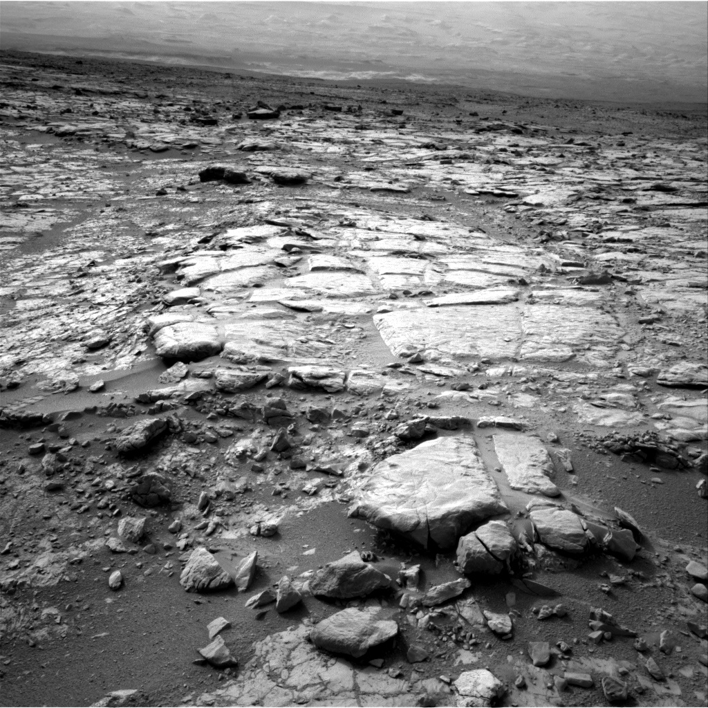 Nasa's Mars rover Curiosity acquired this image using its Right Navigation Camera on Sol 270, at drive 0, site number 6