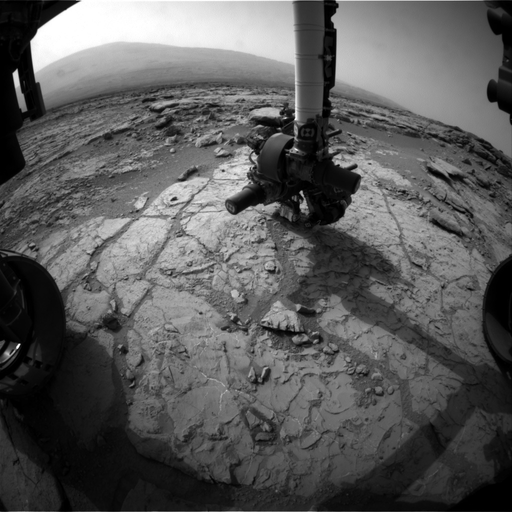 NASA's Mars rover Curiosity acquired this image using its Front Hazard Avoidance Cameras (Front Hazcams) on Sol 271