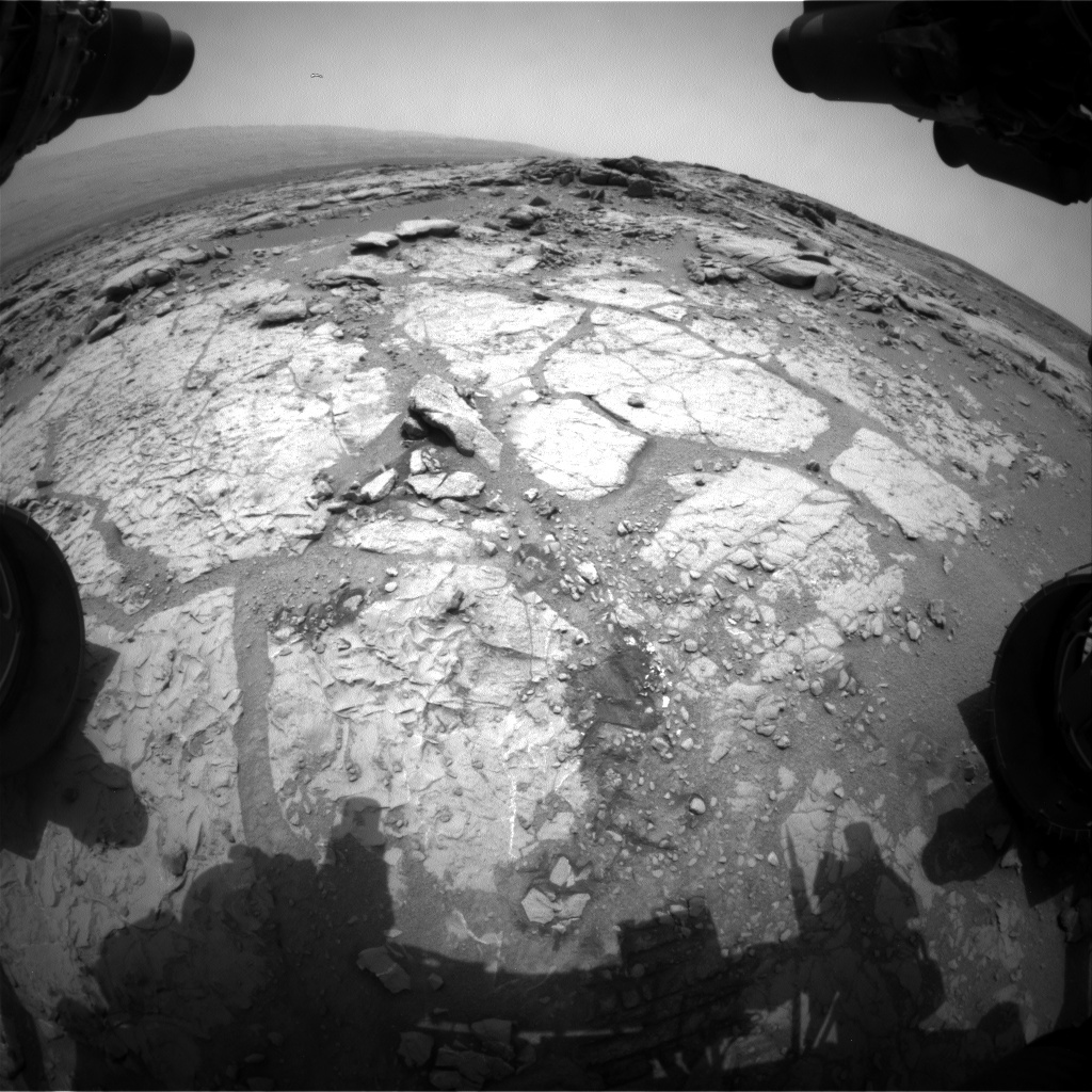 NASA's Mars rover Curiosity acquired this image using its Front Hazard Avoidance Cameras (Front Hazcams) on Sol 272