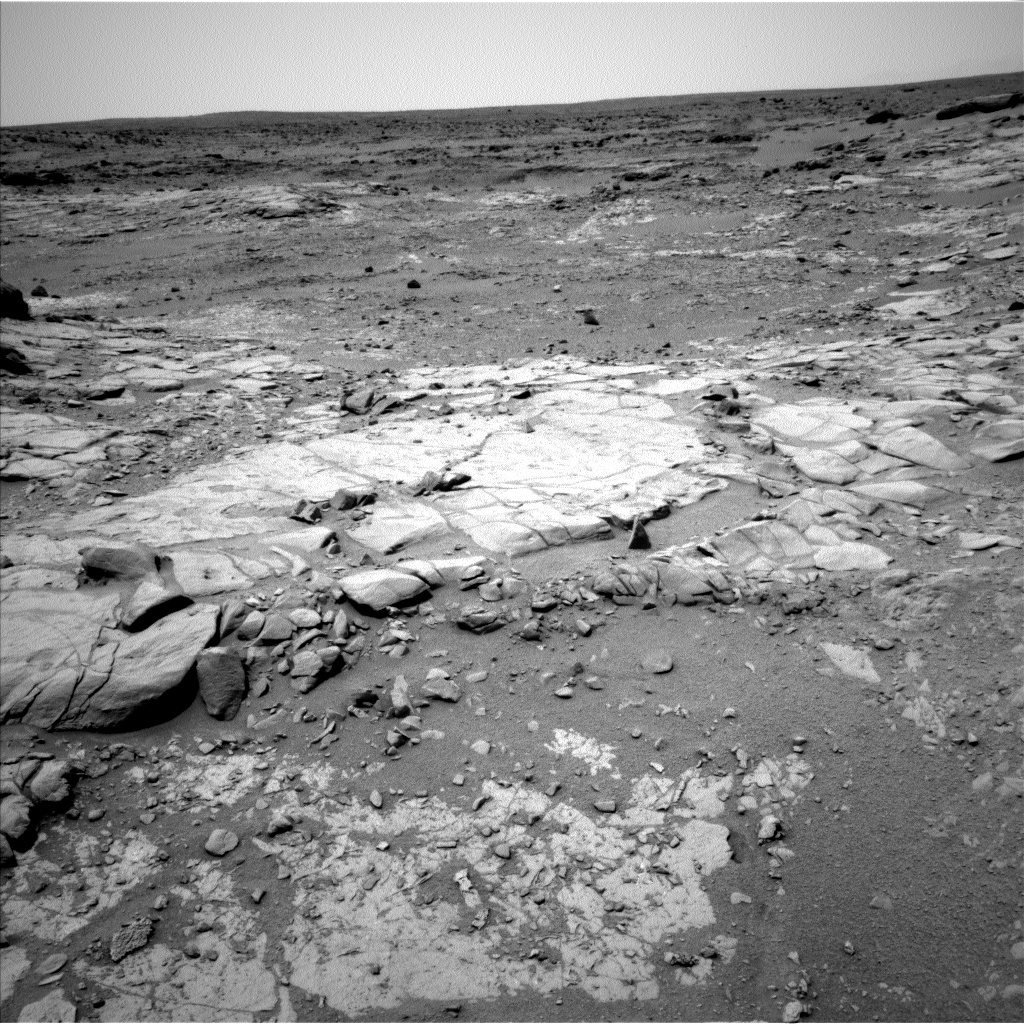 Nasa's Mars rover Curiosity acquired this image using its Left Navigation Camera on Sol 272, at drive 6, site number 6