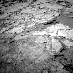 Nasa's Mars rover Curiosity acquired this image using its Left Navigation Camera on Sol 272, at drive 30, site number 6