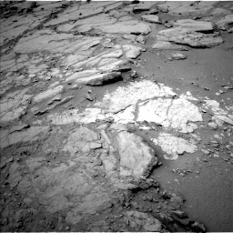 NASA's Mars rover Curiosity acquired this image using its Left Navigation Camera (Navcams) on Sol 272