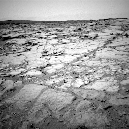 Nasa's Mars rover Curiosity acquired this image using its Left Navigation Camera on Sol 272, at drive 54, site number 6