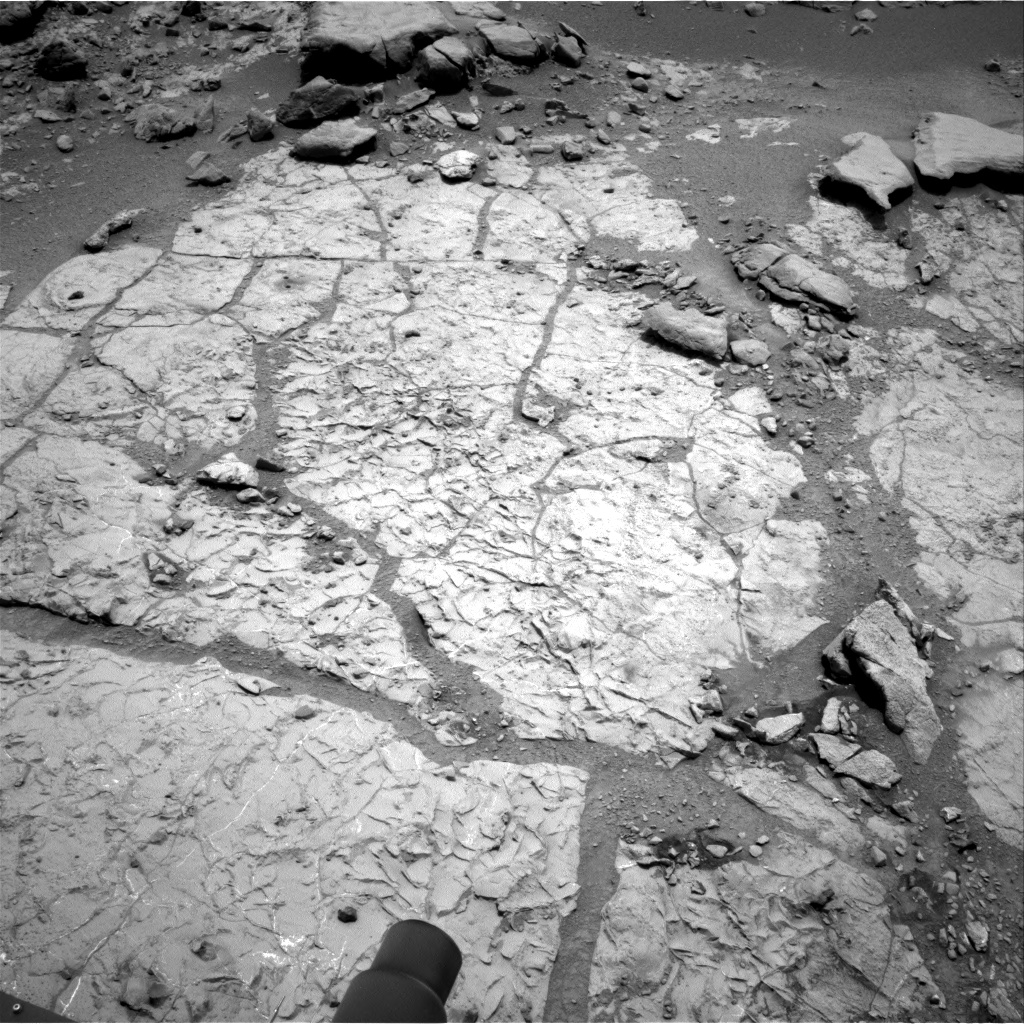 Nasa's Mars rover Curiosity acquired this image using its Right Navigation Camera on Sol 272, at drive 18, site number 6