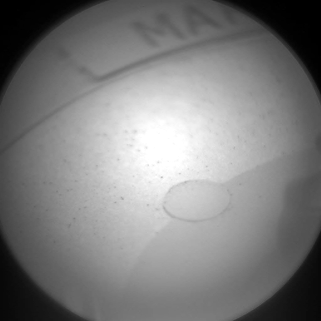 Nasa's Mars rover Curiosity acquired this image using its Chemistry & Camera (ChemCam) on Sol 273, at drive 68, site number 6