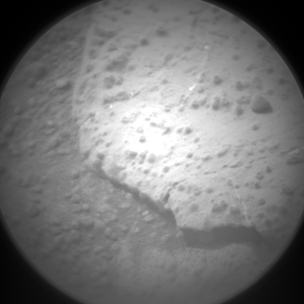 Nasa's Mars rover Curiosity acquired this image using its Chemistry & Camera (ChemCam) on Sol 274, at drive 68, site number 6