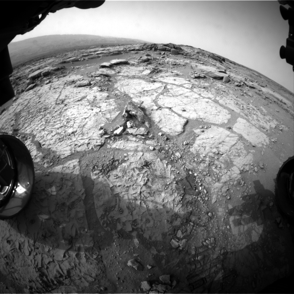NASA's Mars rover Curiosity acquired this image using its Front Hazard Avoidance Cameras (Front Hazcams) on Sol 274