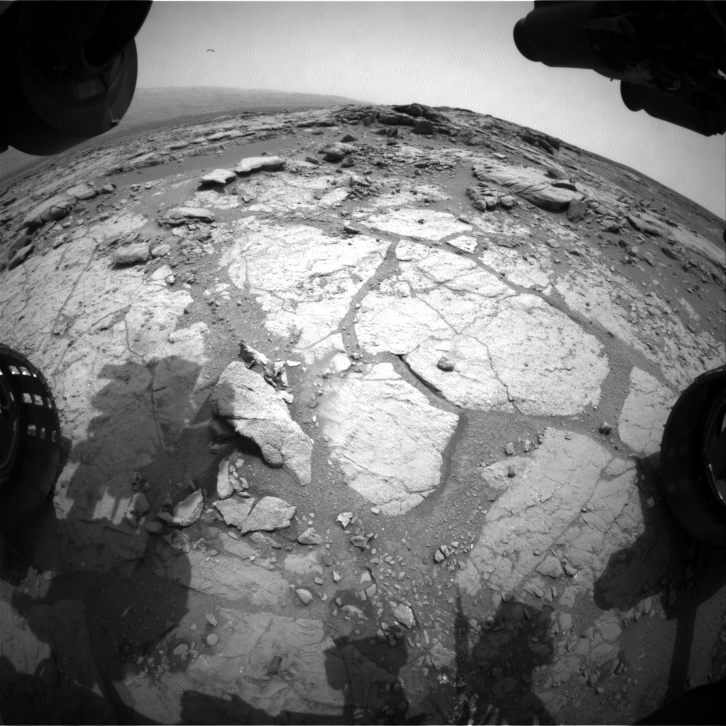 Nasa's Mars rover Curiosity acquired this image using its Front Hazard Avoidance Camera (Front Hazcam) on Sol 274, at drive 82, site number 6