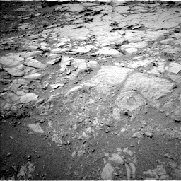 Nasa's Mars rover Curiosity acquired this image using its Left Navigation Camera on Sol 274, at drive 82, site number 6