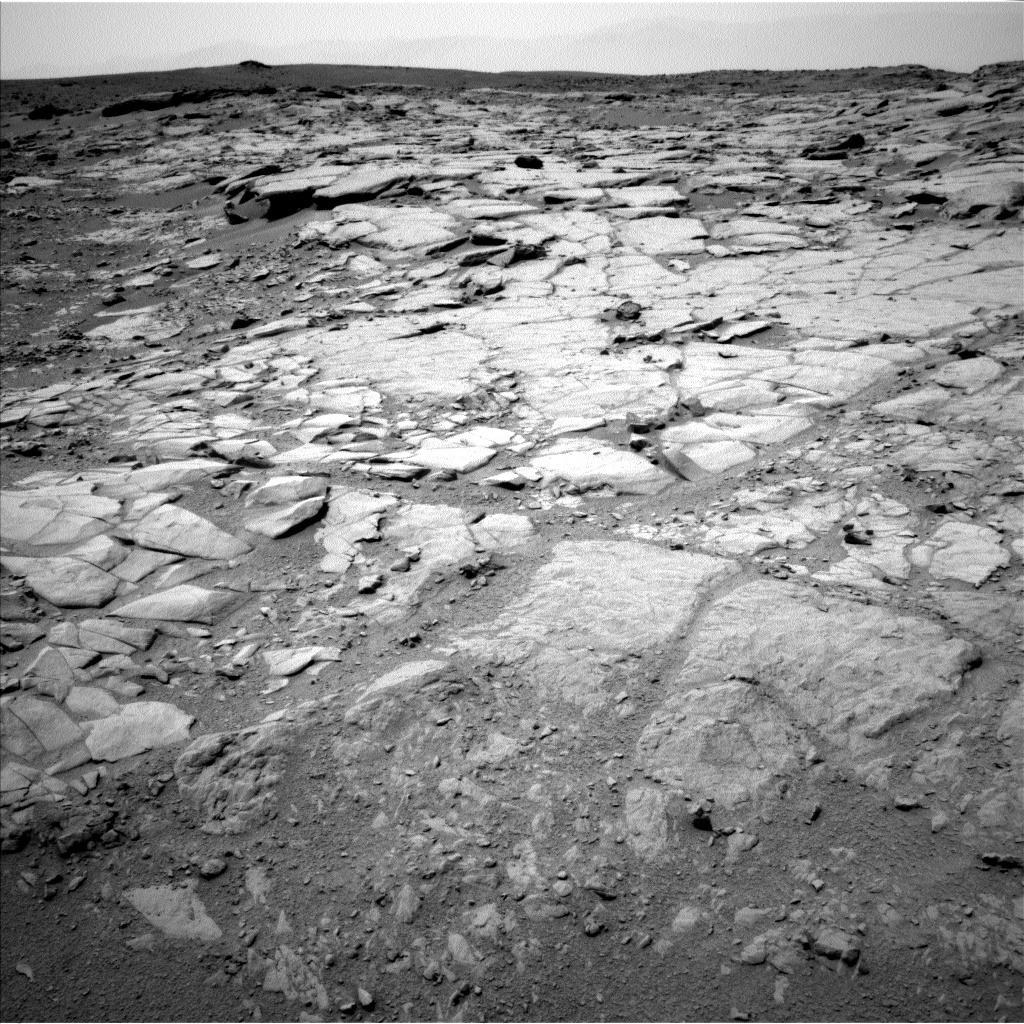 NASA's Mars rover Curiosity acquired this image using its Left Navigation Camera (Navcams) on Sol 274