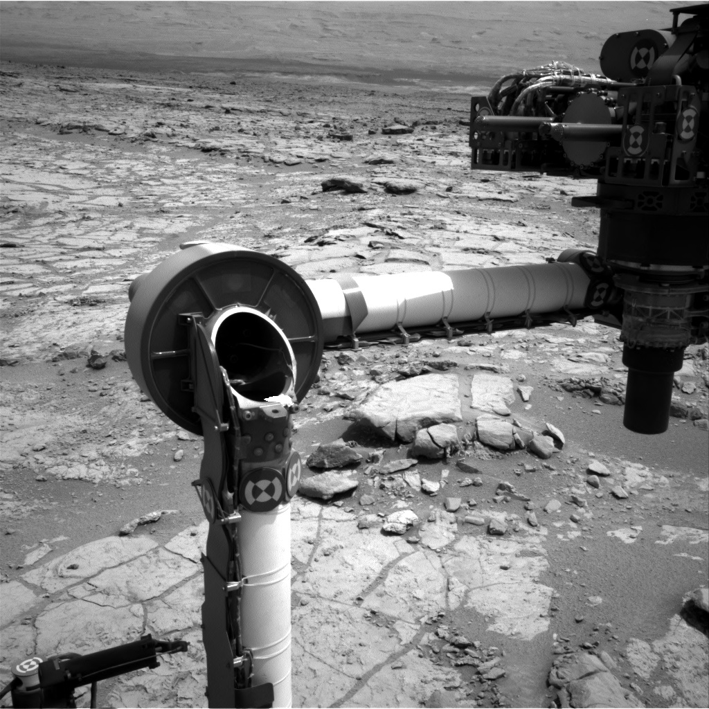 Nasa's Mars rover Curiosity acquired this image using its Right Navigation Camera on Sol 274, at drive 82, site number 6