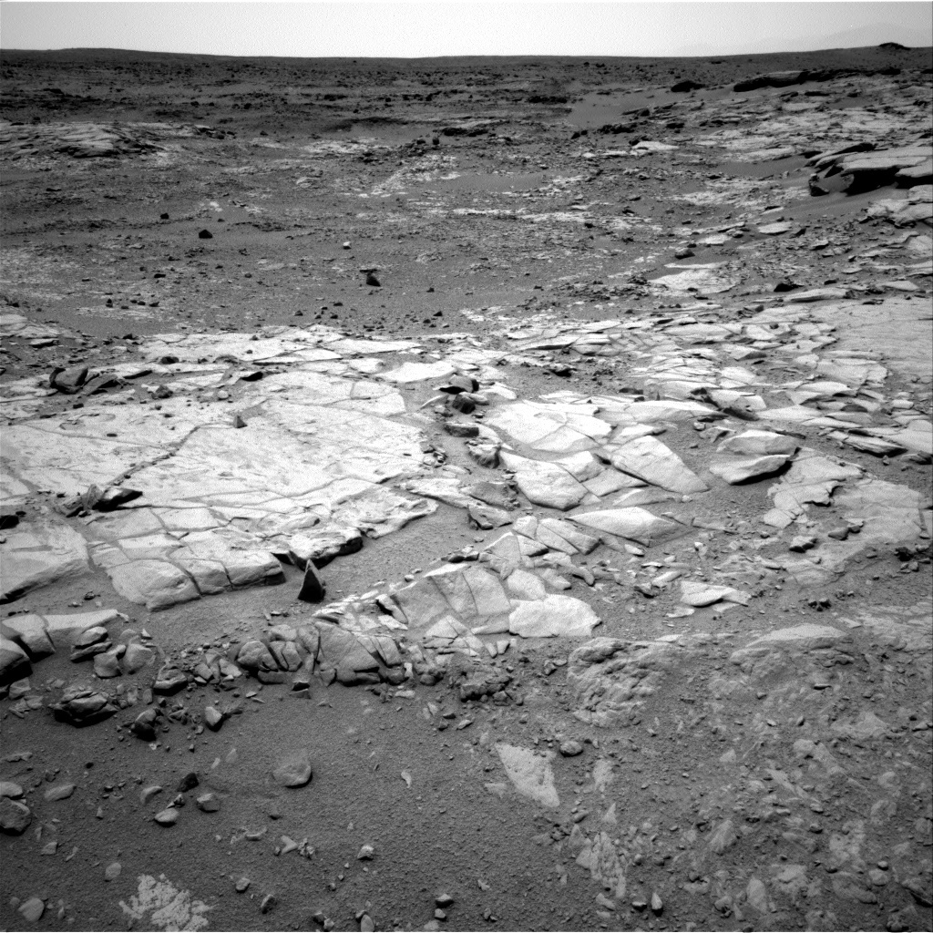 NASA's Mars rover Curiosity acquired this image using its Right Navigation Cameras (Navcams) on Sol 274