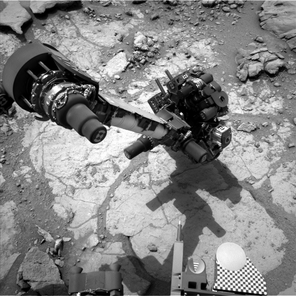 Nasa's Mars rover Curiosity acquired this image using its Left Navigation Camera on Sol 275, at drive 82, site number 6