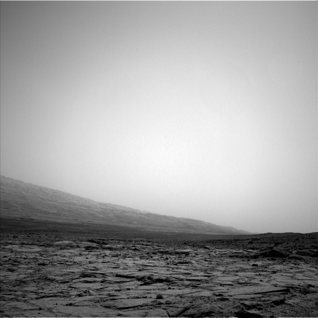 NASA's Mars rover Curiosity acquired this image using its Left Navigation Camera (Navcams) on Sol 275