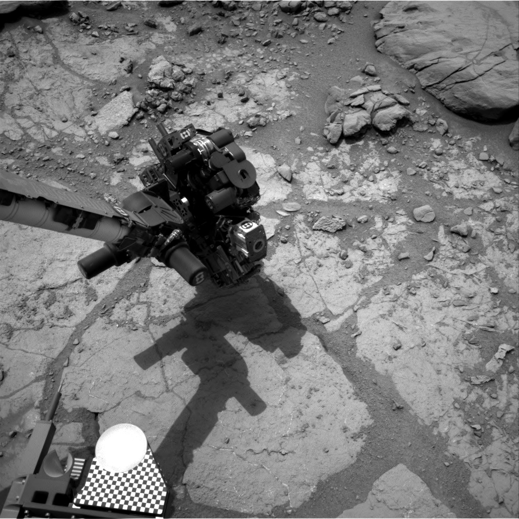 Nasa's Mars rover Curiosity acquired this image using its Right Navigation Camera on Sol 275, at drive 82, site number 6