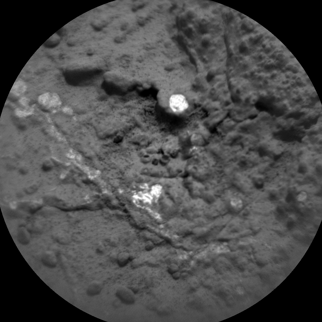 Nasa's Mars rover Curiosity acquired this image using its Chemistry & Camera (ChemCam) on Sol 275, at drive 82, site number 6