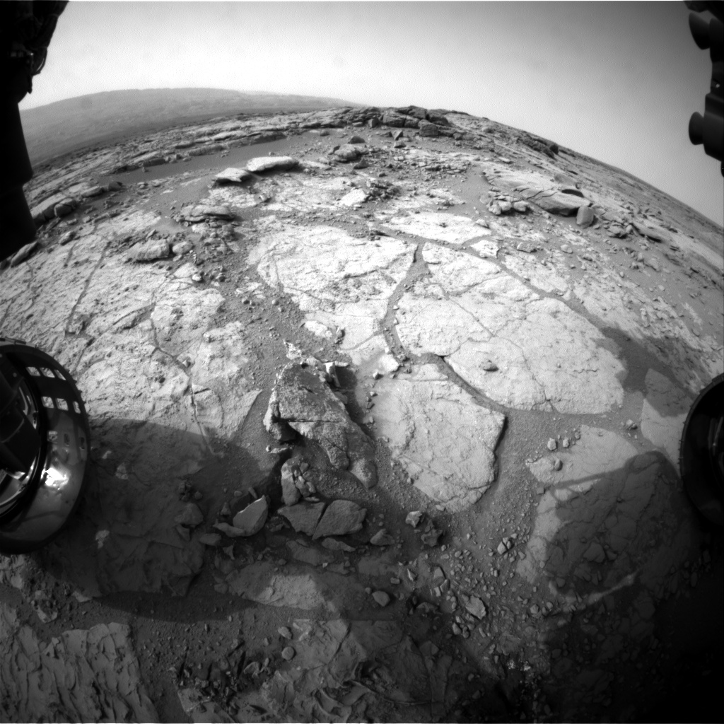 Nasa's Mars rover Curiosity acquired this image using its Front Hazard Avoidance Camera (Front Hazcam) on Sol 276, at drive 82, site number 6
