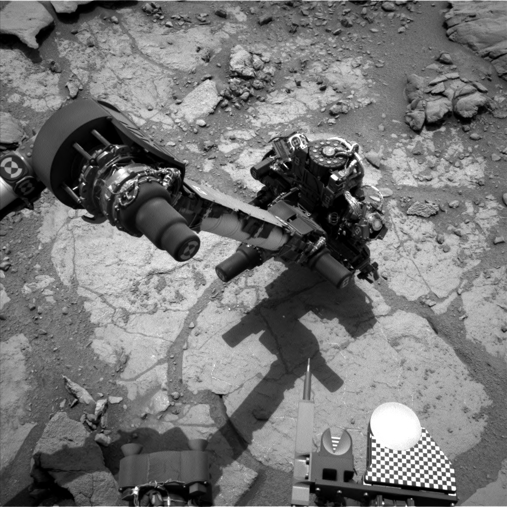 Nasa's Mars rover Curiosity acquired this image using its Left Navigation Camera on Sol 276, at drive 82, site number 6