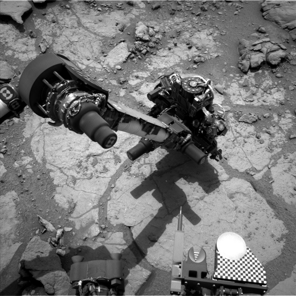 NASA's Mars rover Curiosity acquired this image using its Left Navigation Camera (Navcams) on Sol 276