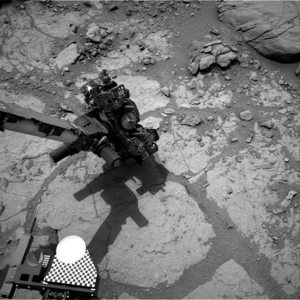 Nasa's Mars rover Curiosity acquired this image using its Right Navigation Camera on Sol 276, at drive 82, site number 6