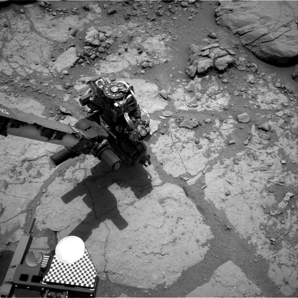 NASA's Mars rover Curiosity acquired this image using its Right Navigation Cameras (Navcams) on Sol 276