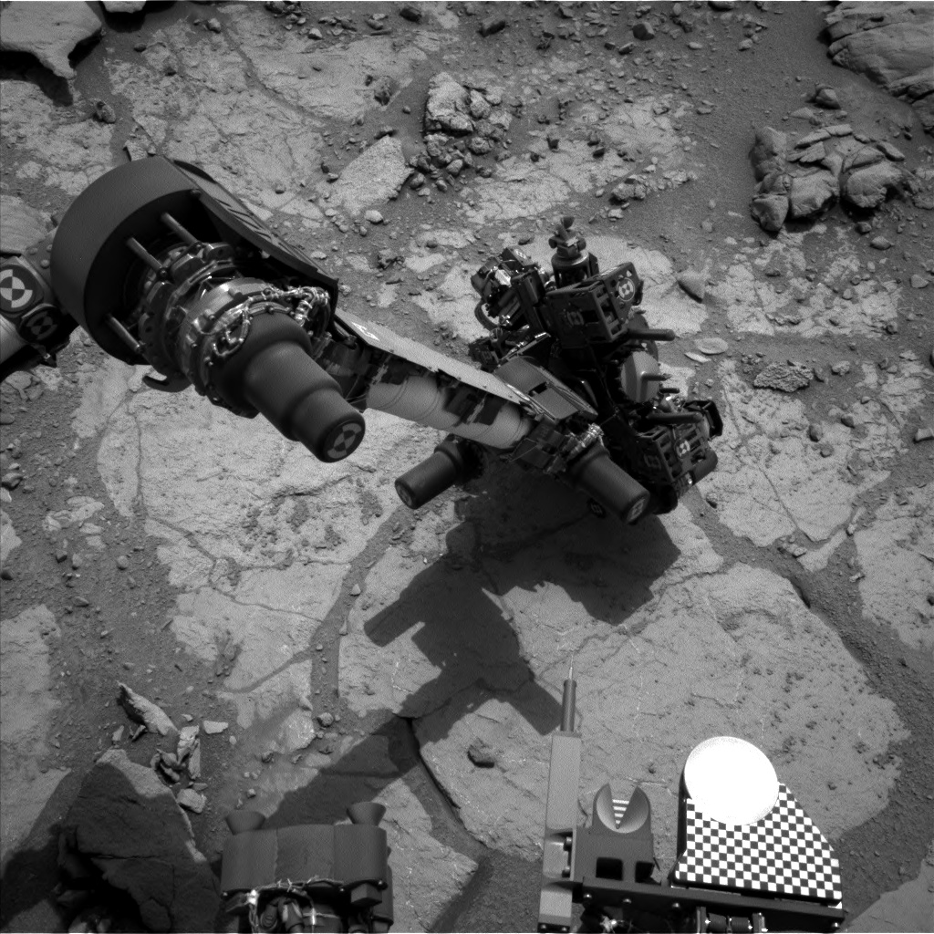 Nasa's Mars rover Curiosity acquired this image using its Left Navigation Camera on Sol 277, at drive 82, site number 6