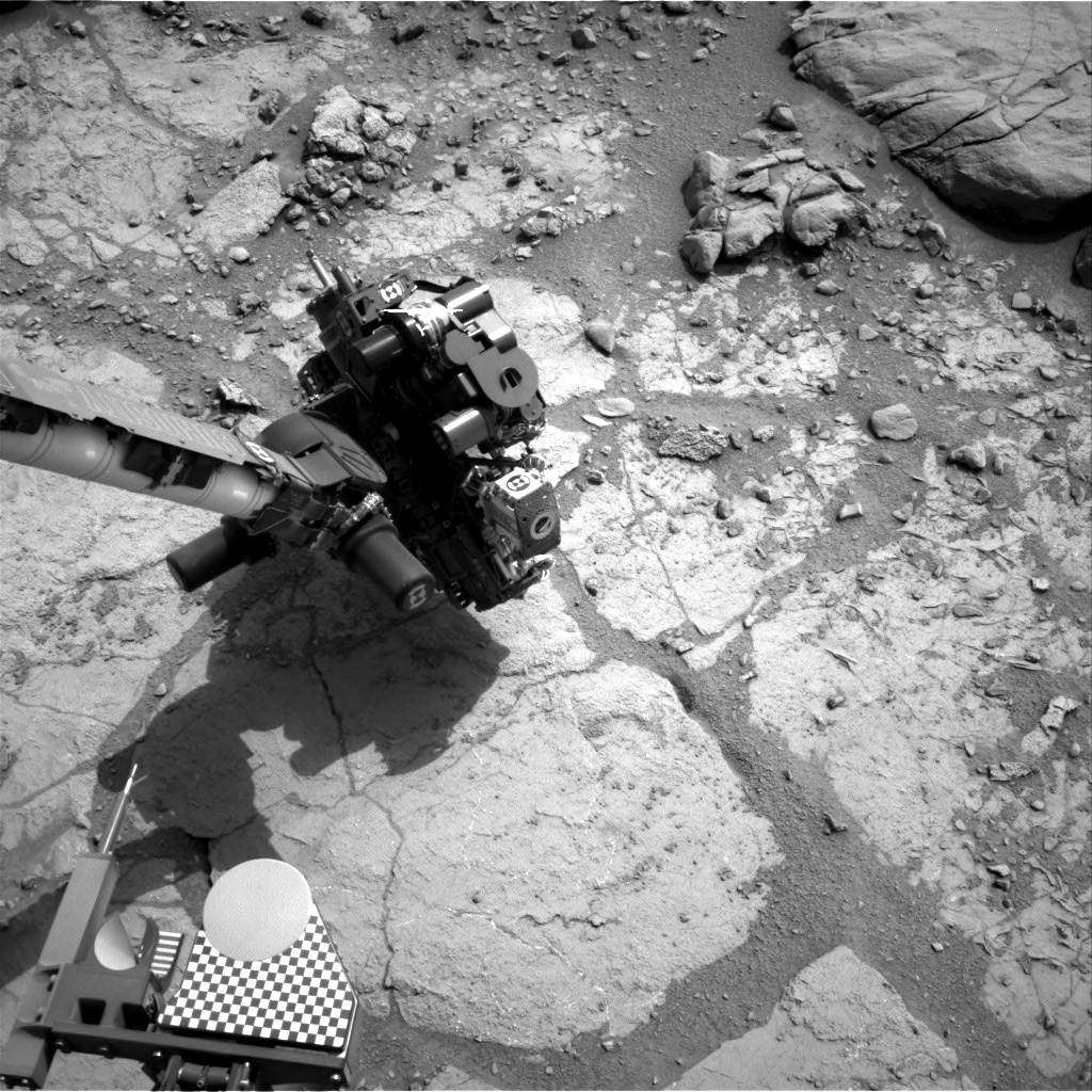 Nasa's Mars rover Curiosity acquired this image using its Right Navigation Camera on Sol 279, at drive 82, site number 6